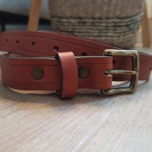 ceinture cuir made in france