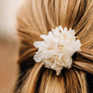 barrette à cheveux fleur