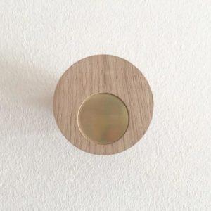 patère chêne fabriqué en france